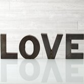 "Holiday Decor ""Love"" Display Letter Block"
