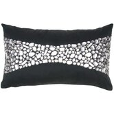 Silk Crystal Rectangle Pillow