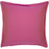 Quilted Faux Silk Pillow