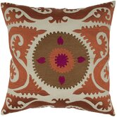 Suzani Floral Embroidery Pillow