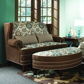 Cornelious Settee and Ottoman