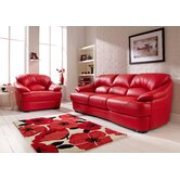 Tiki Leather Split 3 Seater Sofa
