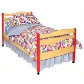 Heart Throb Twin Comforter / Bedskirt / Sham Set