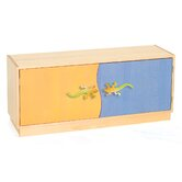Little Lizards 2-Door Storage Unit