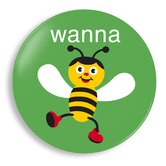 Wanna Bee Plate