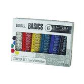 Basics Acrylics Paint Tube Set