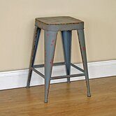 Distressed Stacking Stool