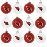 NFL Plastic Ball Ornament (Set of 12)