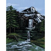 Painting by Numbers Artist Canvas Series Mtn Waterfall Set