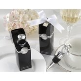 ''With This Ring'' Diamond-Ring Bottle Stopper