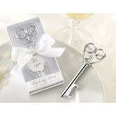 ''Simply Elegant'' Key To My Heart Bottle Opener