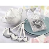 ''Love Beyond Measure'' Measuring Spoons Baby Shower Favor
