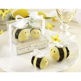 &quot;Mommy and Me...Sweet As Can Bee&quot; Ceramic Honeybee Salt and Pepper Shaker