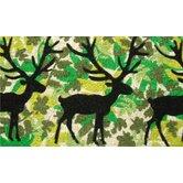Camouflage Deer Doormat
