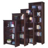 Tribeca Loft Cherry Office Collection 60&quot; Bookcase in Cherry