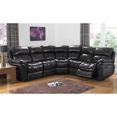 Madras Reclining Corner Sectional Sofa