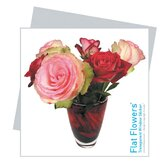 Flat Flowers Greetings in Roses