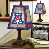 NCAA Art-Glass Table Lamp