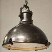 Metal Marine Fixture 1 Light Pendant