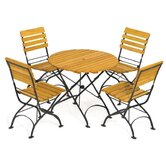 Rebecca Folding Round Dining Table