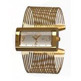 Metic Band Women's Watch