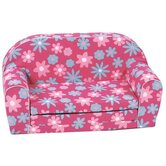 Mini Schlafsofa &quot;Flower Pink&quot;