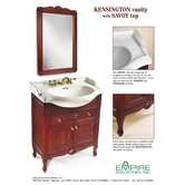 "Kensington 24"" Bathroom Vanity Mirror in Cinnamon"