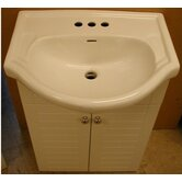"Metropolitan 24"" Vanity and Ceramic Top Combo"
