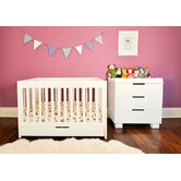 Mercer 3-in-1 Convertible Crib with Toddler Rail