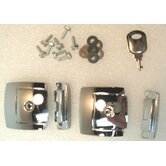 Chrome Lock (Set of 2)