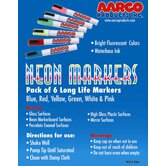 Neon Dry Erase Makers