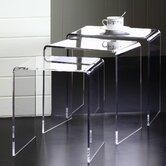 Pure Décor 3 Piece Nesting Tables Set