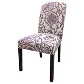 Passion Cotton Parson Chair (Set of 2)