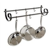 Decor Wall Scroll Utensil Pot Rack