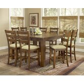 Hemstead 9 Piece Counter Height Dining Set