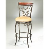 Knightsbridge 26&quot; Swivel Counter Stool