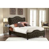 Trieste Fabric Panel Bed