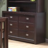 Novara 6 Drawer Dresser