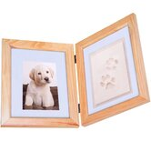 Pet Impression Keepsake Picture Frame Kit