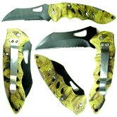 Woodsman Camouflage Pocket Knife