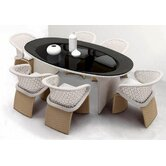 Exotica 7 Piece Dining Set
