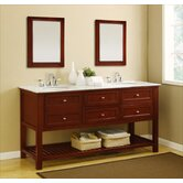 "Mission 70"" Double Bathroom Vanity"