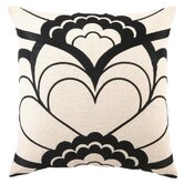 Deco Floral Linen Pillow