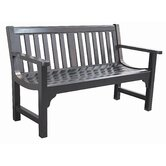 Charleston Cast Aluminum Park Bench