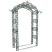 Royal Cast Iron Garden Arbor with Hangers