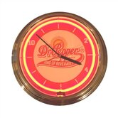 Dr. Pepper Neon Clock