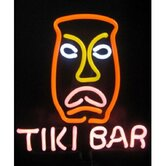 Tiki Bar Neon Sculpture