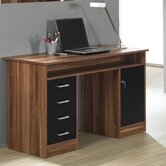 Whitman Computer Desk with 4-Drawers and 1 Door