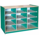 Classroom Color 12 Cube Storage Unit
