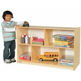 Two Shelf Mobile Storage Unit